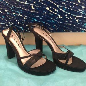 Nina Sparkly Heels - Black